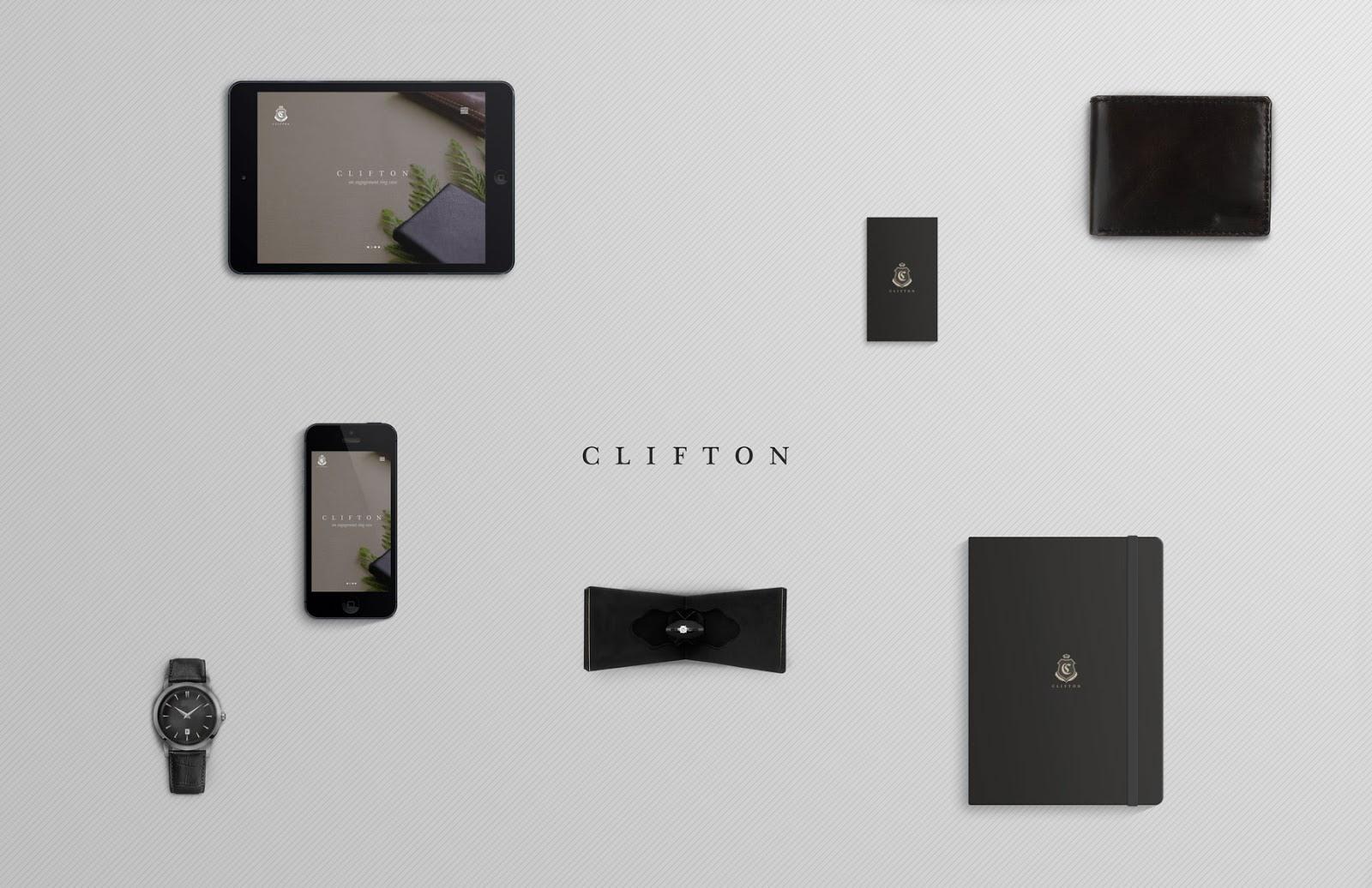 Projekt opakowania Clifton