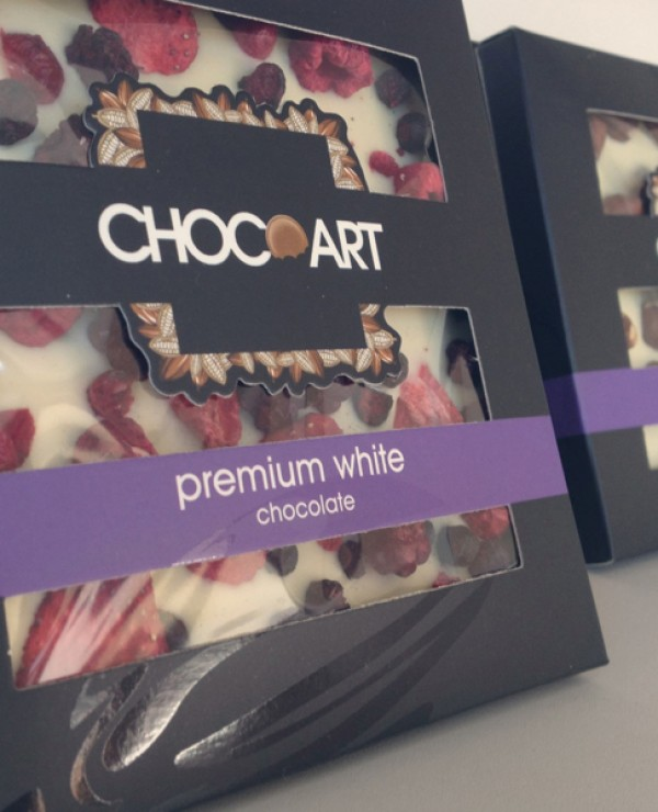 Projekt opakowania czekolady ChocoArt