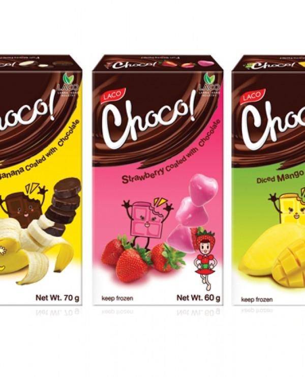 Projekt paczki deserów Laco Choco