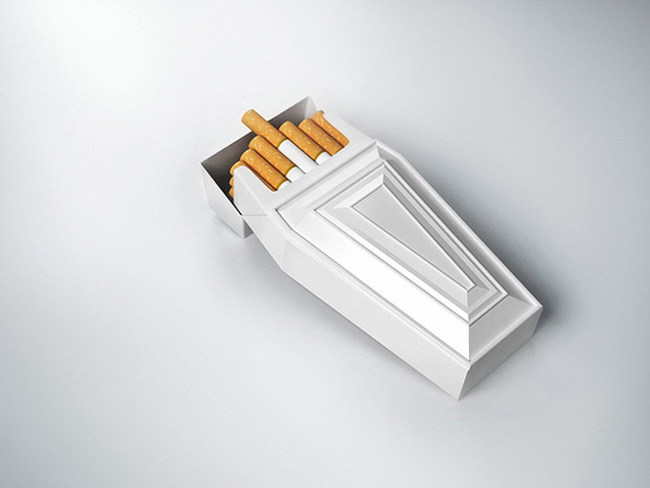 Projekt paczki papierosów AntiSmoke1
