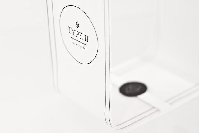 Projekt pudełka perfum Type II Perfume (projekt studenta)