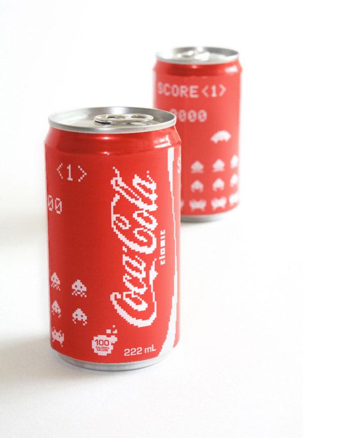 Projekt puszki Coca-cola
