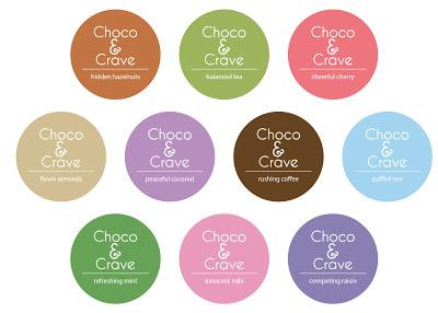 Pudełko czekoladek Choco&Crave (projekt studenta)