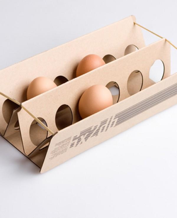 Pudełko na jajka (projekt studenta)
