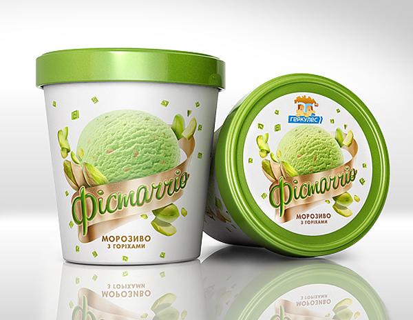Pudełko z lodami Hercules Ice-Cream