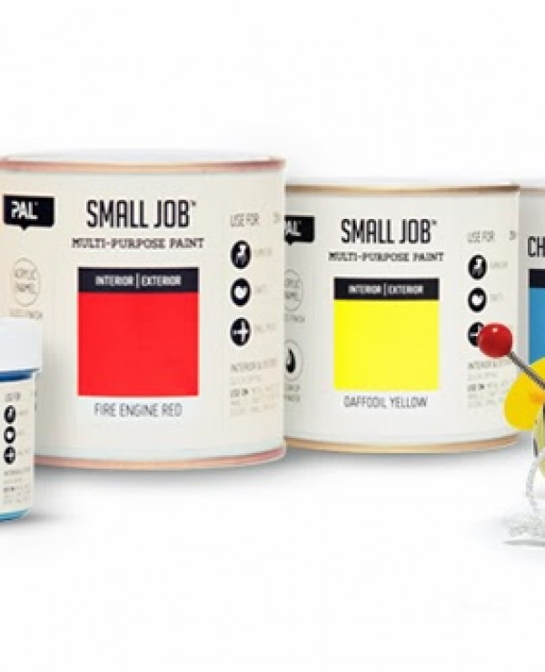 Puszka farby PAL Small Job (przeprojektowanie)