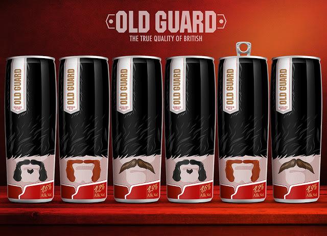 Puszka piwa Old Guard