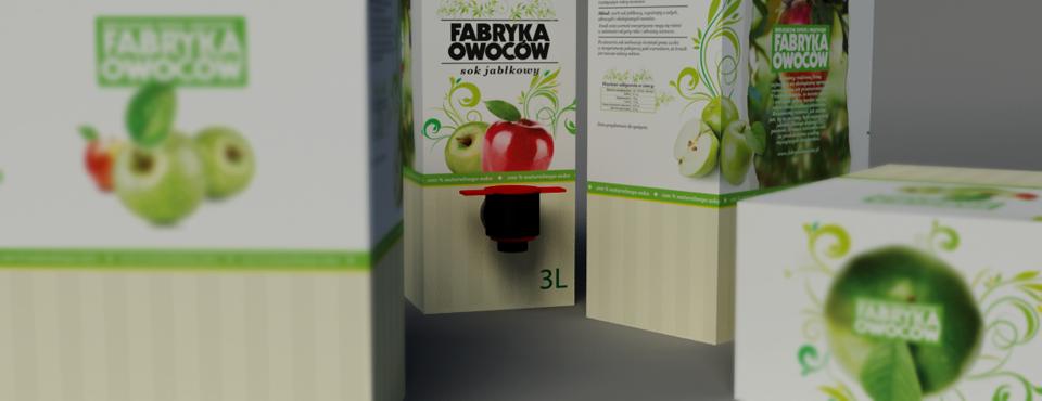 Sok jabłkowy od Fabryki Owoców