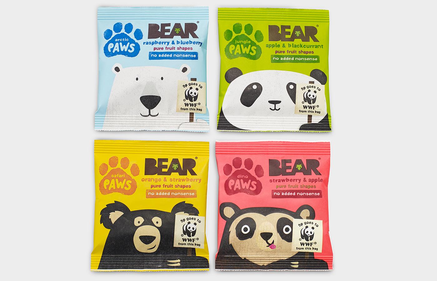 Opakowanie Bear Paws