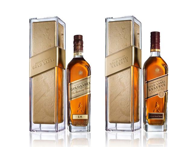 projekt butelki Johnnie Walker Gold1