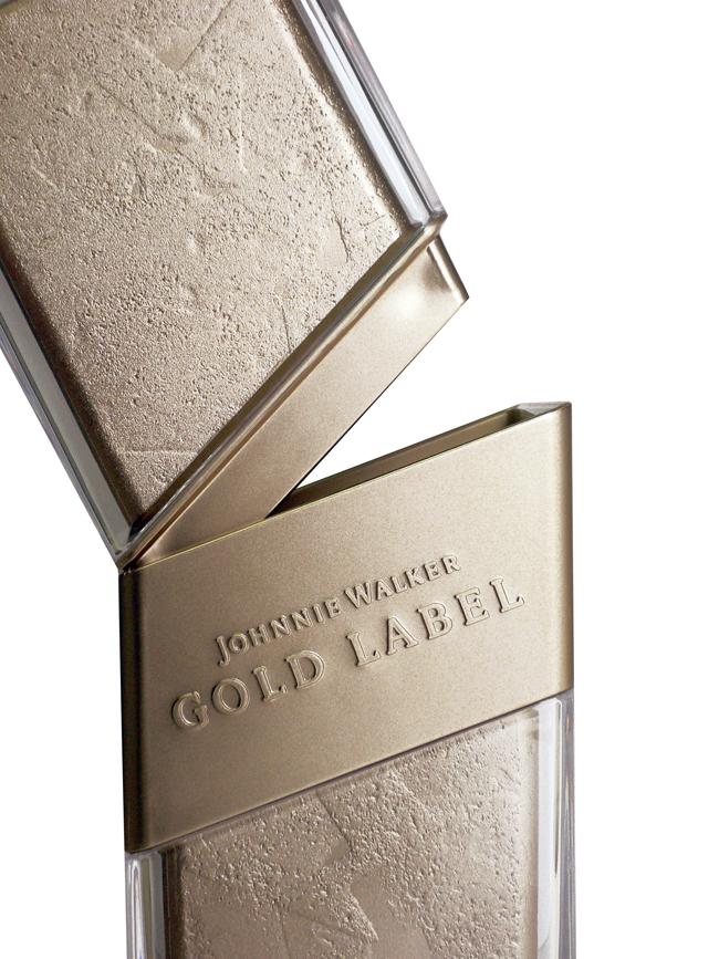 projekt butelki Johnnie Walker Gold2