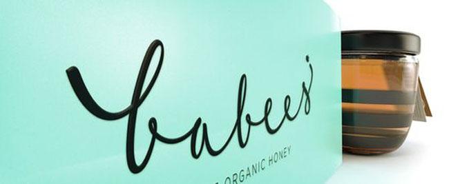 Projekt słoika z miodem Babees Honey 5